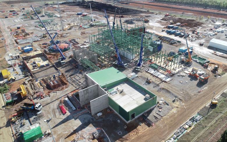 Central de biomasa de Puertollano