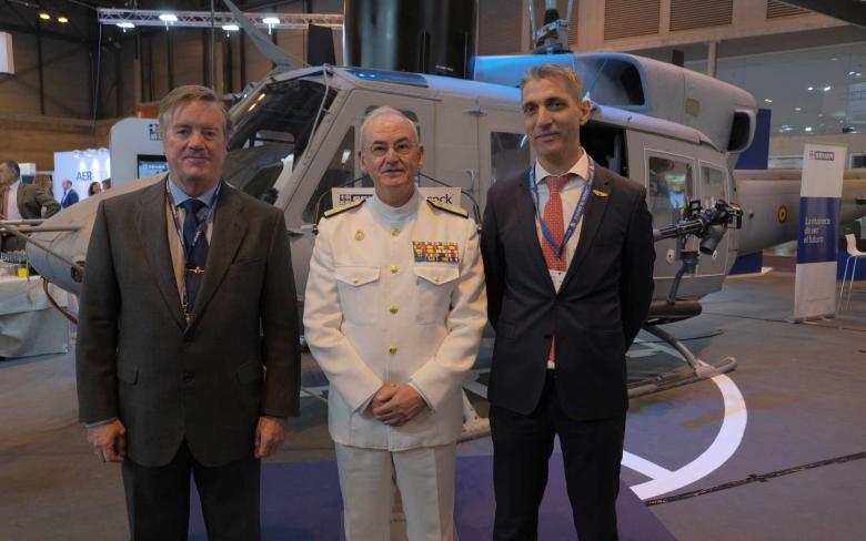 SENER y Babcock conmemoran el fin del programa de extensión de vida de los helicópteros AB-212 para la Armada Española