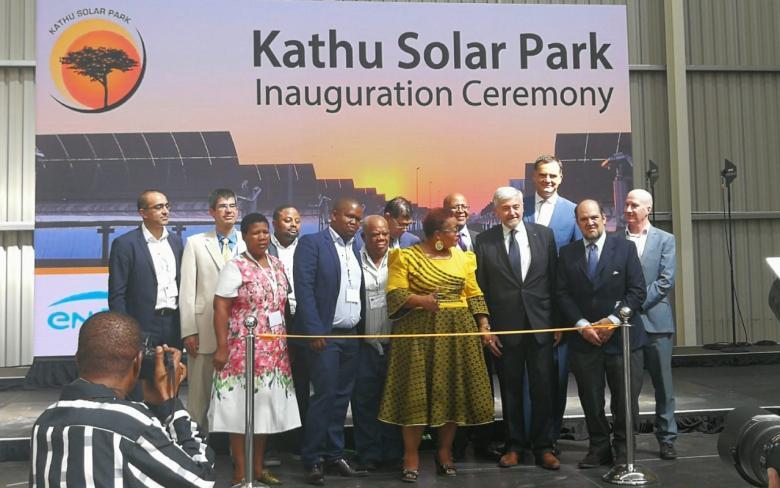 Inauguración de la planta termosolar Kathu (Sudáfrica) 2