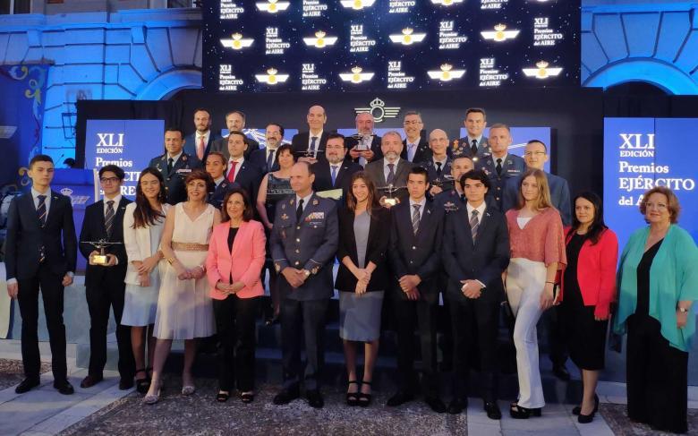 La Fundación SENER patrocina el Premio del Ejército del Aire a la Investigación Aeroespacial Universitaria