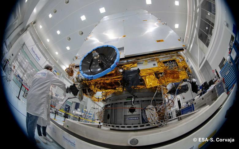 SENER Aeroespacial entrega exitosamente el AOCS del satélite EUCLID