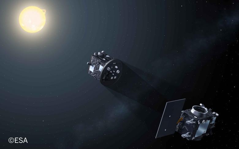 SENER Aeroespacial completa la fase de diseño detallado de la misión Proba-3 de vuelo en formación