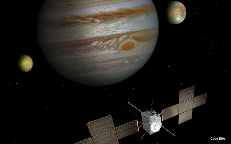 SENER Aeroespacial desarrollará los equipos para el montaje y comprobación del conjunto de paneles solares del satélite JUICE
