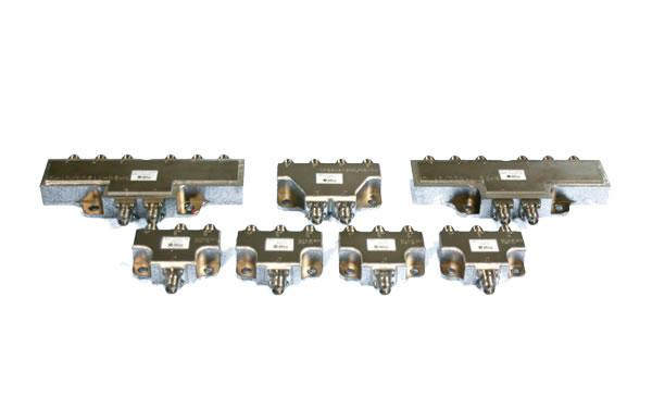 Low Power Coaxial Dividers and Hybrids