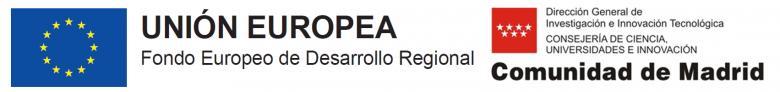 ACTUACIÓN COFINANCIADA POR LA COMUNIDAD DE MADRID Y LA UNION EUROPEA A TRAVÉS DEL FONDO EUROPEO DE DESARROLLO REGIONAL 2014-2020 (FEDER)