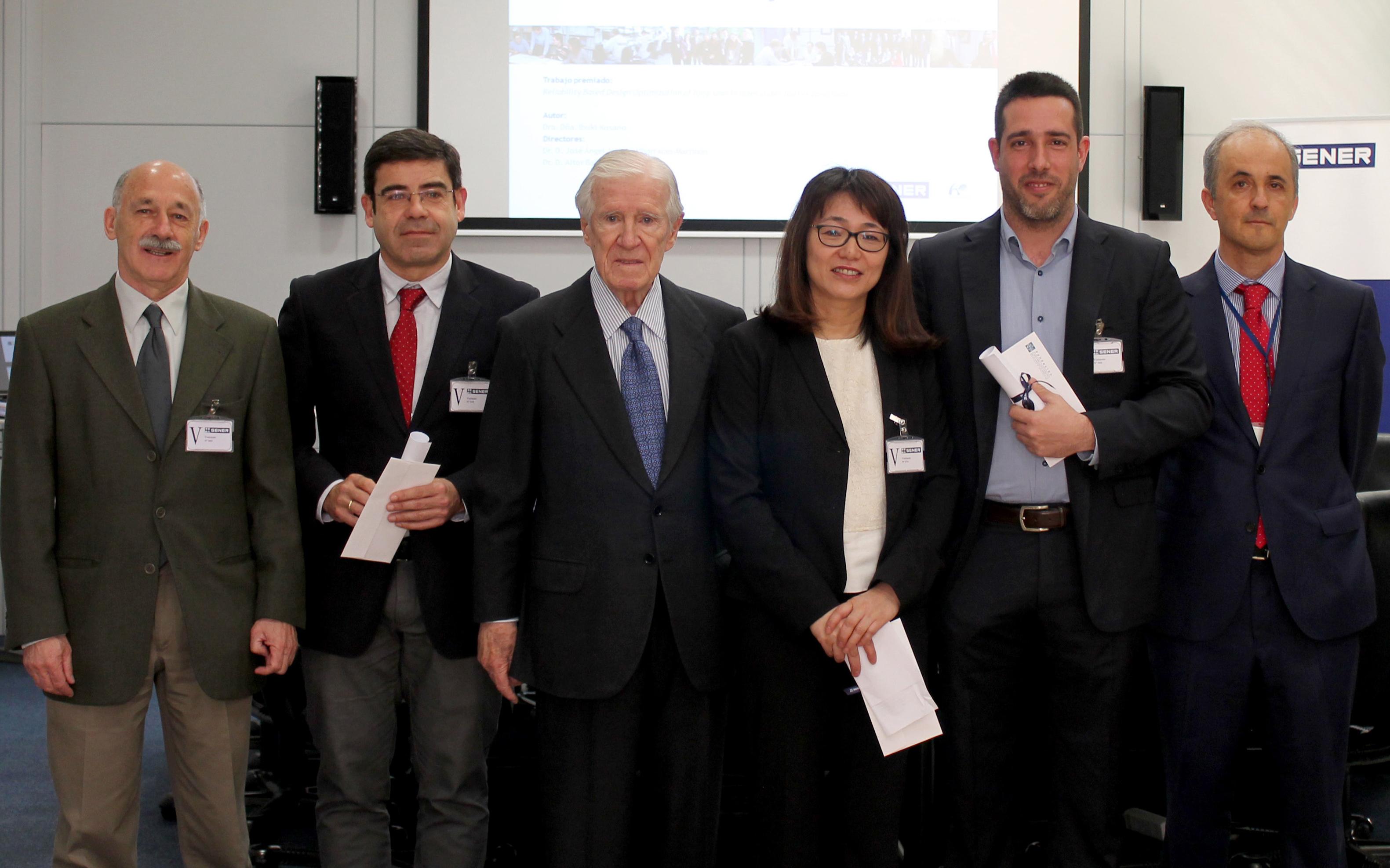 Una doctora por la Universidad de A Coruña obtiene el premio a la Mejor Tesis Doctoral de la Fundación SENER