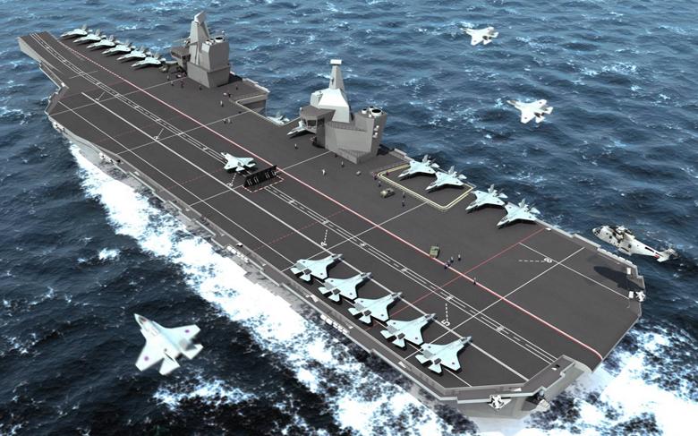 CVF, aircraft carrier for the Royal Navy