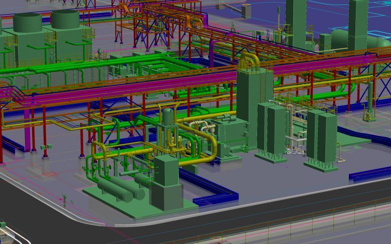 Sistema virtual de distribución de GNL