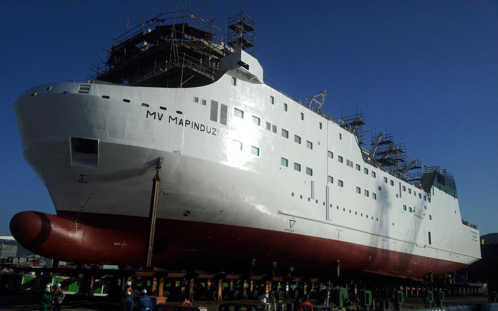 "Ferry 1,200 passengers ""Mapinduzi II"""