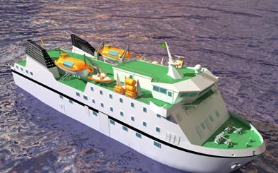 Ferry de 600 pasajeros