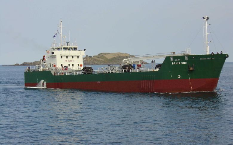 'Bahia Uno', buque de suministro de combustible