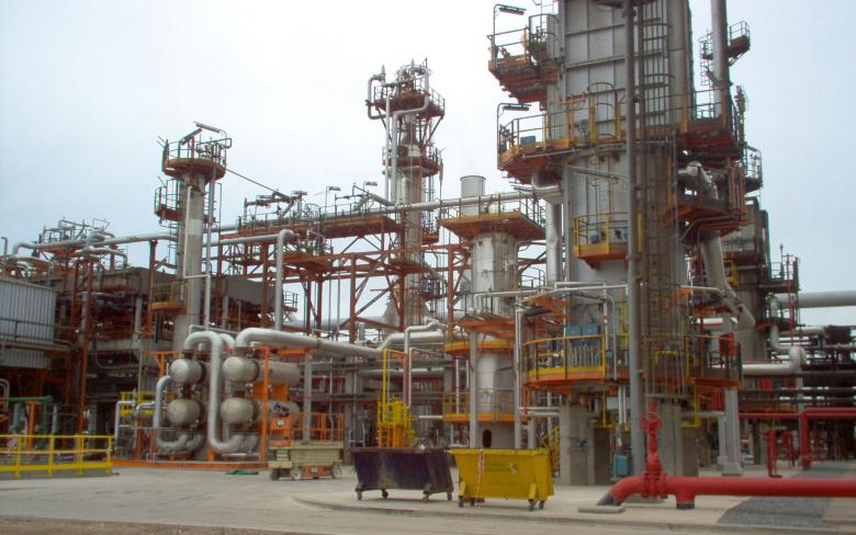 Naphtha hydrotreatment unit