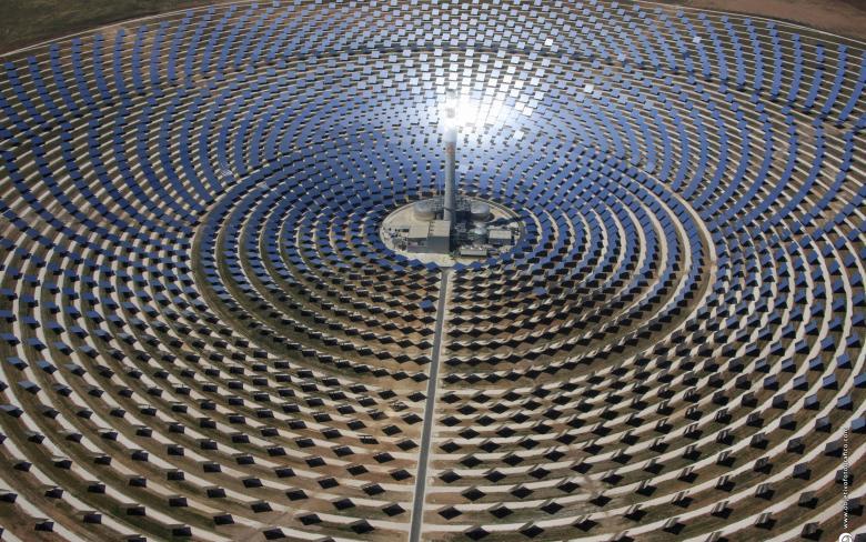Planta solar térmica Gemasolar