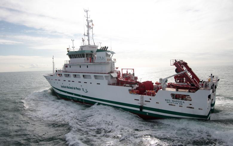 Buque oceanográfico y estudios pesqueros 'BIPO'