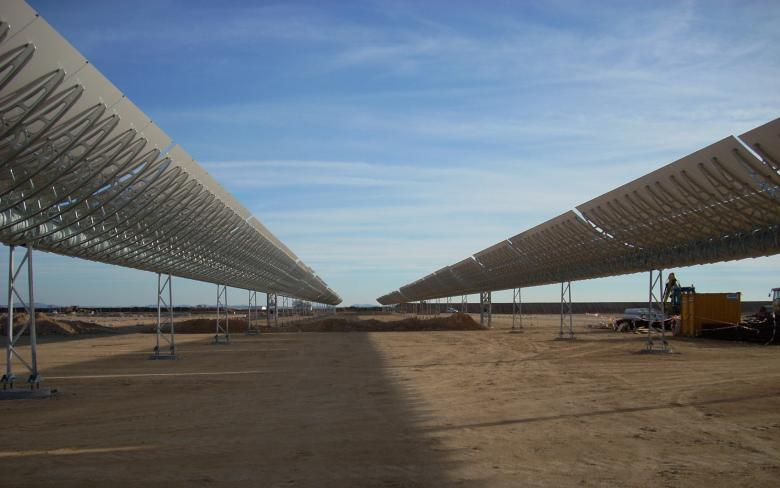 ASTE 1A & 1B PARABOLIC TROUGH PLANTS
