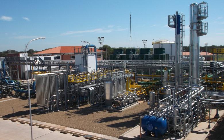 Gasoducto Bolivia
