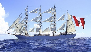 Sailing Training Ship. BAP UNION