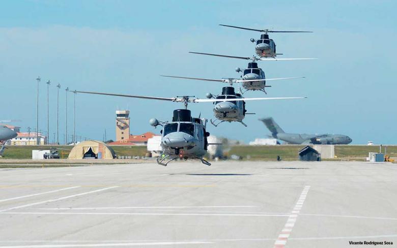 Programa de modernización de los helicóptero AB-212