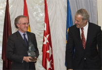 SENER receives the 2009 Miguel Pardo Award in the Technology and Innovation category