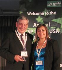 SENER gana el Premio US CSP Today por su solución para mejorar la despachabilidad en el suministro energético de las plantas solares