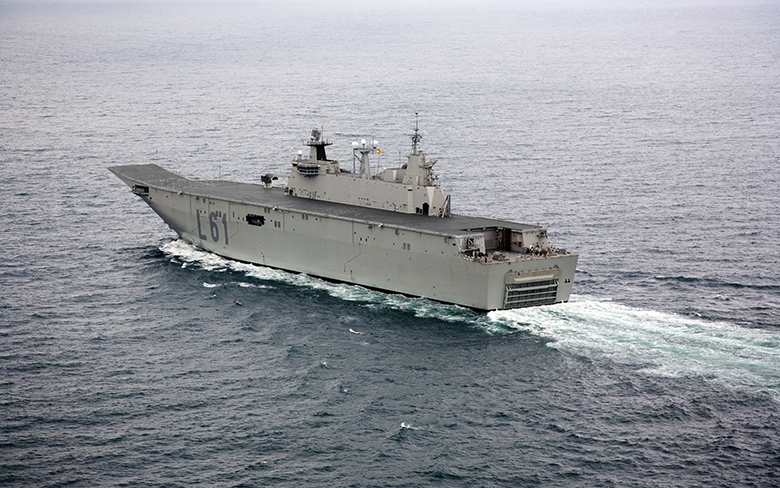 FORAN ship: Navantia commissioned the LHD Juan Carlos I to the Spanish Navy