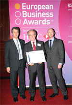 SENER obtains the selection certificate from the prestigious European Business Awards