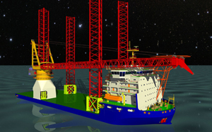 FORAN for the development of a Heavy Lift Jack Up Vessel