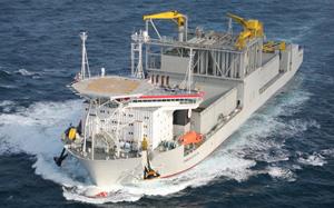 FORAN V70 in La Naval Shipyard