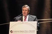 Jorge Sendagorta, presidente de SENER, gana el premio al Mejor Empresario Vasco de la Fundación Empresa Vasca y Sociedad