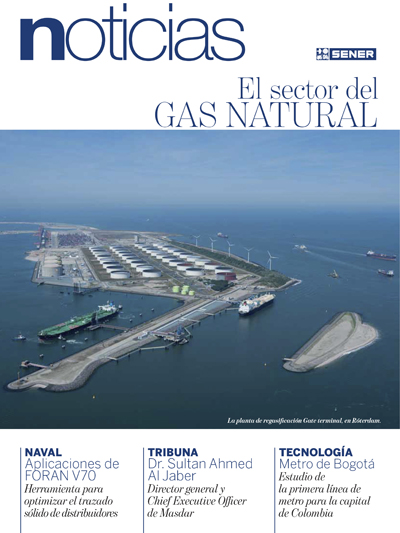 Revista SENER Noticias nº 42 - Diciembre 2011