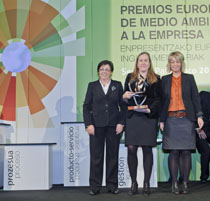 SENER wins European Business Awards for the Environment/Basque Division for its Gemasolar project