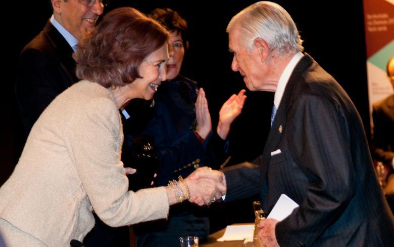 Enrique de Sendagorta Aramburu, fundador y presidente de Honor de SENER, recibe el Premio Nacional a la Trayectoria Innovadora