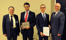 Gate terminal, a SENER project, wins the European Construction Institute 'Project of the Year' Award