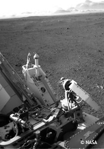 SENER's pointing mechanism for the rover Curiosity demonstrates its efficiency on Mars