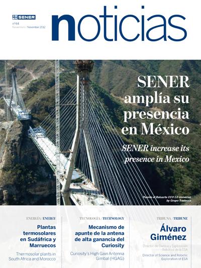 SENER Noticias Magazine nº 44 - Noviembre 2012