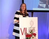 Itziar Urrutia, Director of SENER Division in Bilbao, wins AED business award 2013