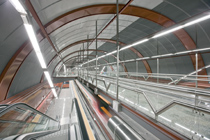 SENER, finalist in the European Rail Congress Awards for the Sol suburban rail station in Madrid