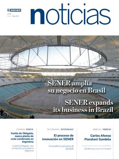 Revista SENER Noticias nº 45 - Mayo 2013