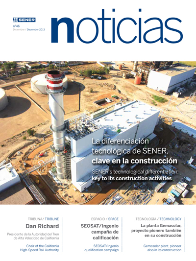 Revista SENER Noticias nº 46 - Diciembre 2013