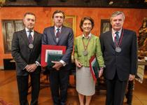 El presidente de SENER recibe dos nuevos reconocimientos