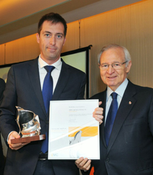 "SENER receives the MC MUTUAL ""Antonio Baró"" Prize for the Prevention of Occupational Hazard"