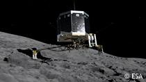 La sonda Rosetta, con equipos de SENER, aterriza con éxito en la superficie del cometa