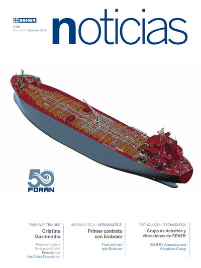 Revista SENER Noticias nº 48 - Diciembre 2014