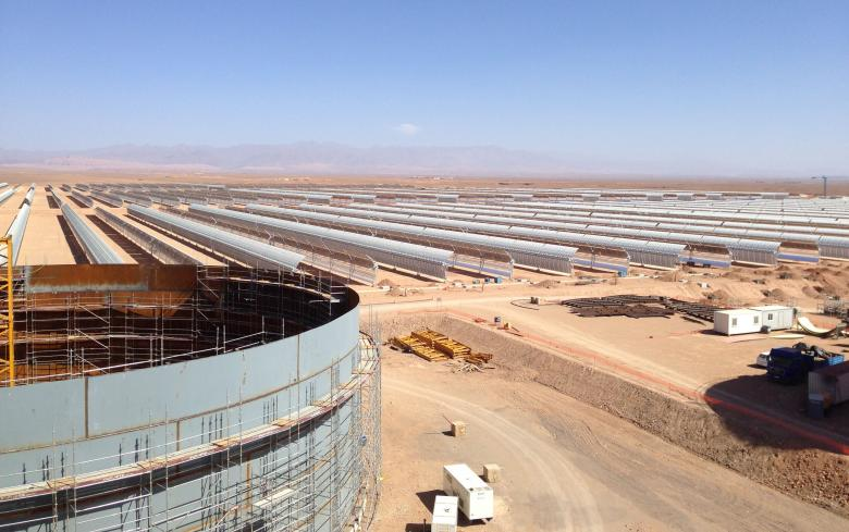 SENER signs contract for more than 500 million Euros in the world's largest solar complex