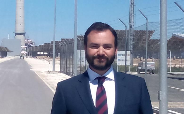 Raúl Mendoza, nuevo responsable de la planta Gemasolar