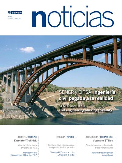 Revista SENER Noticias nº 49 - Junio 2015