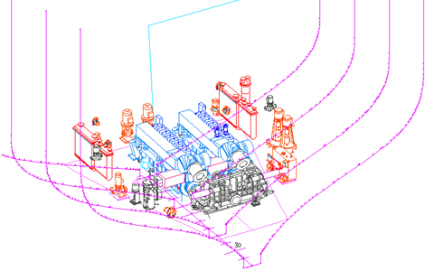 An Integrated Shipbuilding 3D CAD Tool Applied to the Initial Design