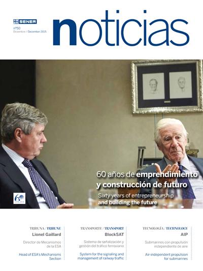Revista SENER Noticias nº 50 - Diciembre 2015