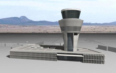 Torre de control en Argel
