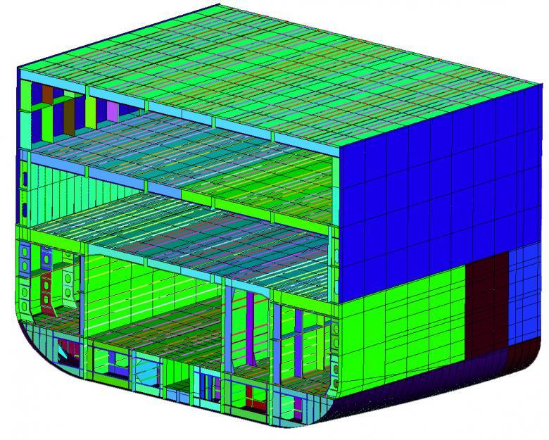 SENER Subsistema FORAN Diseño Básico estructura interna